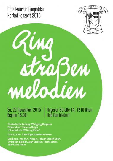 Plakat Konzert 2015