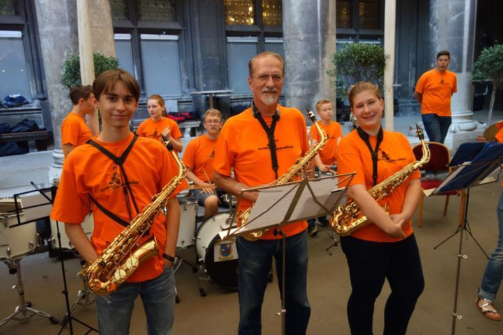 OC Bürgermeister Saxophone