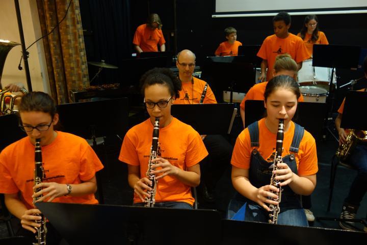 Festkonzert 2015 MS 22 Klarinetten